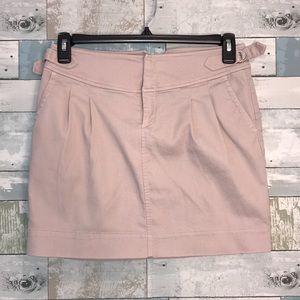 Banana Republic micro corduroy blush skirt size 4